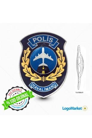EGM- 3D Polis Havalimanı Arması TPU