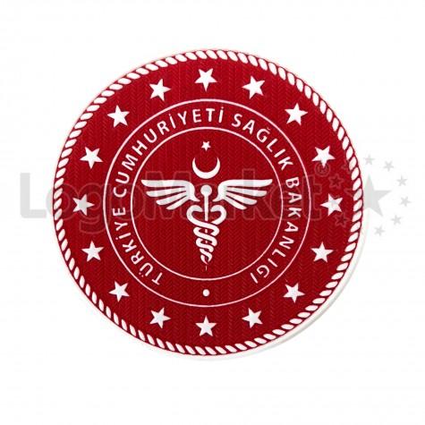 3D Sağlık Bakanlığı Arma TPU