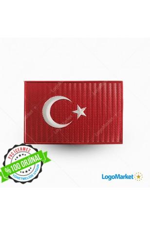3D Türk Bayrağı 4x6 TPU